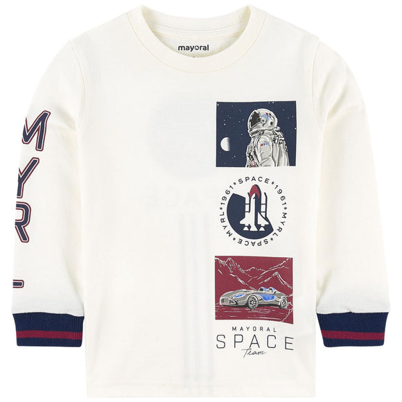Mayoral Boy's Space Team Graphic Top