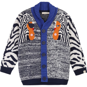 BIllybandit Boys Multy Color Cardigan