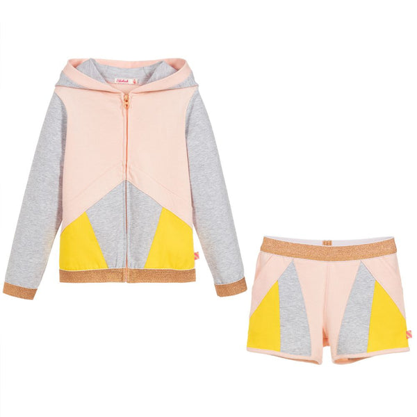 Billieblush Girls Cotton Short Tracksuit