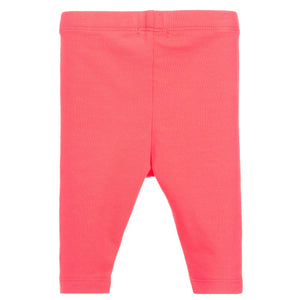 Billieblush Girls Pink Cotton Fruit Leggings