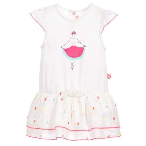 Billieblush Girls Cotton Watermelon Dress