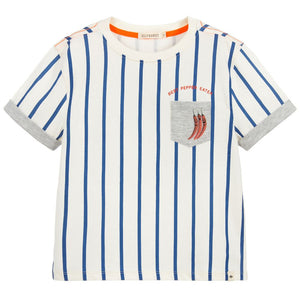 Billybandit Boys Striped Cotton Chilli Top