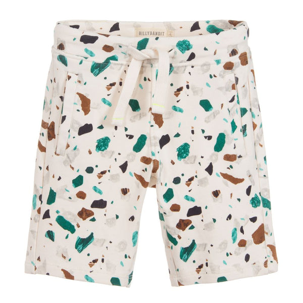 Billybandit Boys Cotton Jersey Speckled Shorts