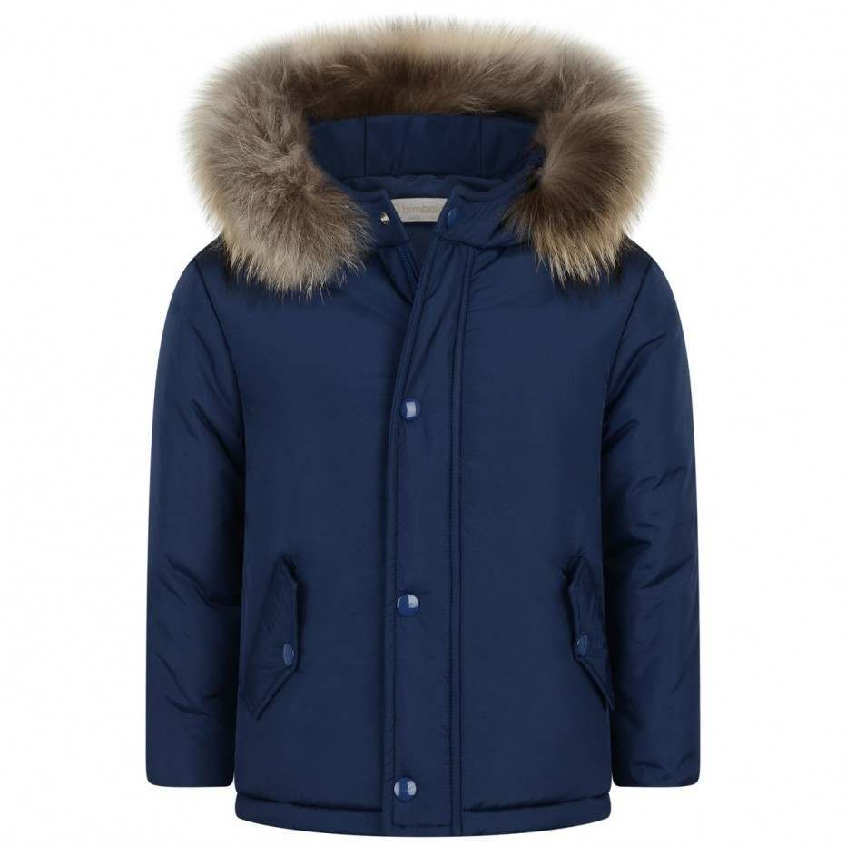 Bimbalo Boy Winter Jacket Dark Blue