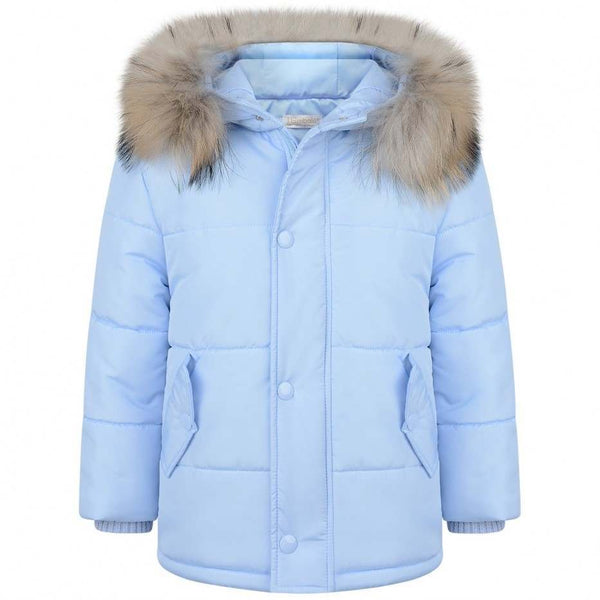 Bimbalo Boy Winter Jacket Light Blue