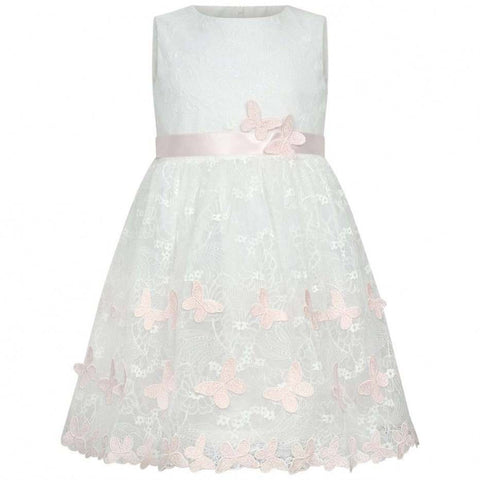 Bimbalo Ivory Lace Butterfly Dress