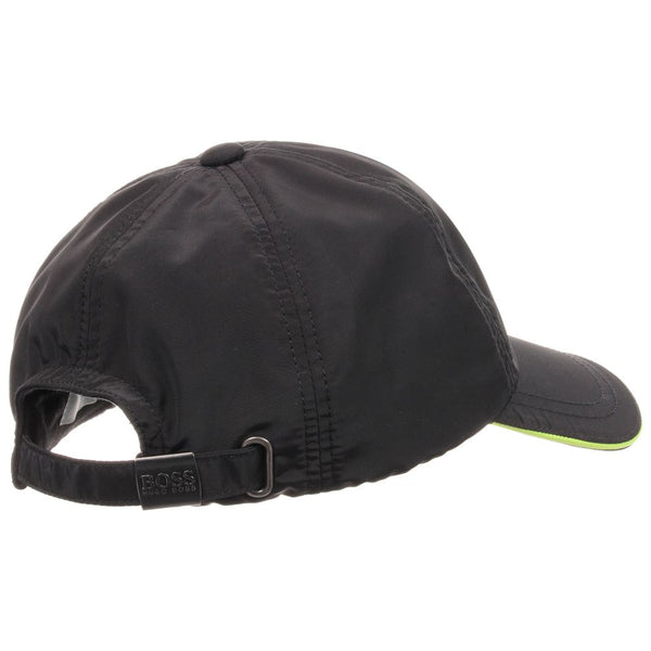 BOSS Boys Black Nylon Logo Cap