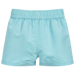 HUGO BOSS Boys Blue Logo Swim Shorts