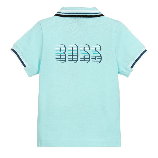 BOSS Baby Boys Cotton Polo Shirt