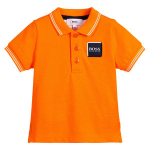 HUGO BOSS Baby Boys Cotton Polo Shirt