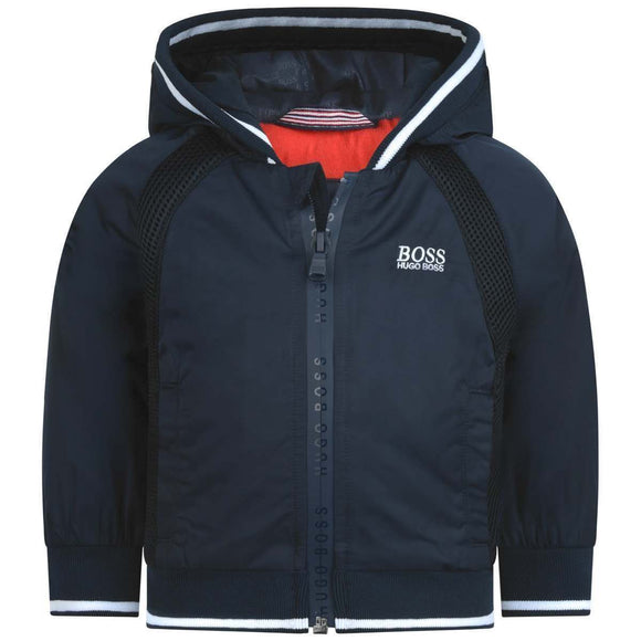 Boss Baby Boys Navy Blue Padded Jacket
