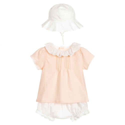 Chloé Baby Girls 3 Piece Shorts Set