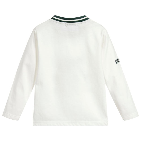Dr. Kid Varsity Style Ribbed Collar Shirt