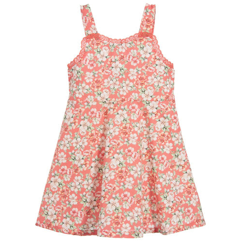 Dr. Kid Coral Pink Cotton Dress