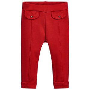Dr. Kid Girls Dressy Cuffed Jersey Trousers