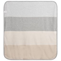 Dr. Kid Reversible Wool Blend Voyage Blanket Grey