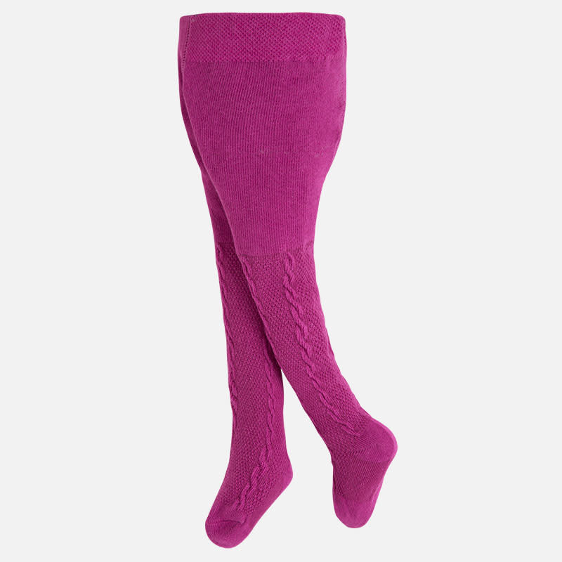 Mayoral Girl Tights Plum