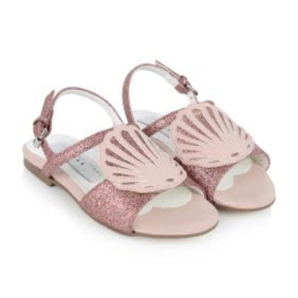Stella McCartney Pink Penny Shell Sandals