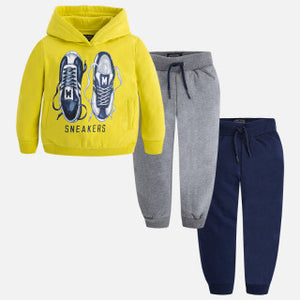 Mayoral Boys Tracksuit with Sweatshirt and Two Pants