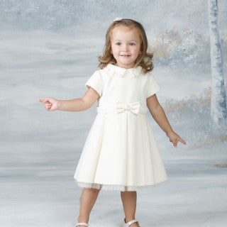 Bimbalo Ivory Dress with Pearls