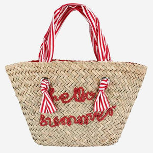 Mayoral Hello Summer Straw Bag