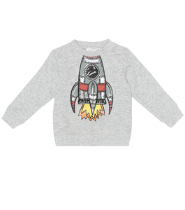 Stella McCartney Kids Boys Space Shuttle Sweatshirt