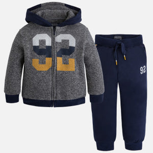 Mayoral Boys Tracksuit with Hood and Zip