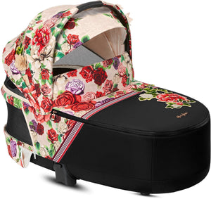 Cybex 2019 Priam Lux Carry Cot - Spring Blossom Light
