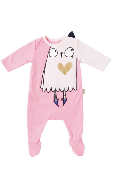 Little Marc Jacobs Baby Romper & Bib Gift Set