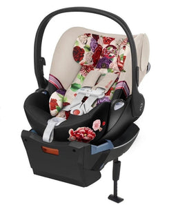CYBEX CLOUD Q INFANT CAR SEAT WITH SENSORSAFE - SPRING BLOSSOM