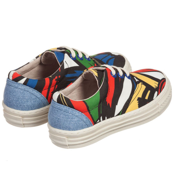 Stella McCartney Sneakers stampate multicolore