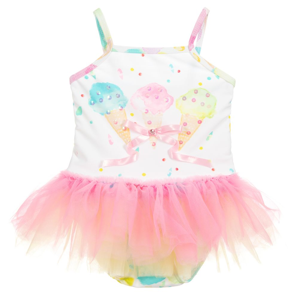 Kate Mack Rainbow Ice-Cream Swimsuit
