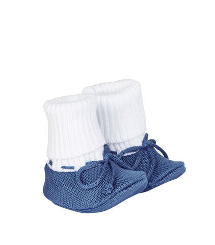 Bimbalo Knit Cotton Booties