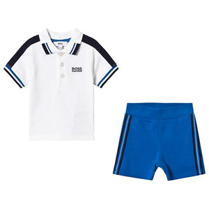 HUGO BOSS Boys Polo and Short Set