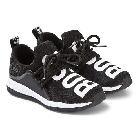 HUGO BOSS Boys Logo Trainers