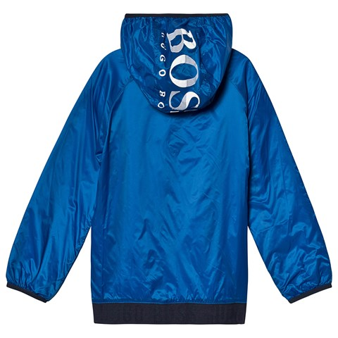 HUGO BOSS Boys Hooded Windbreaker