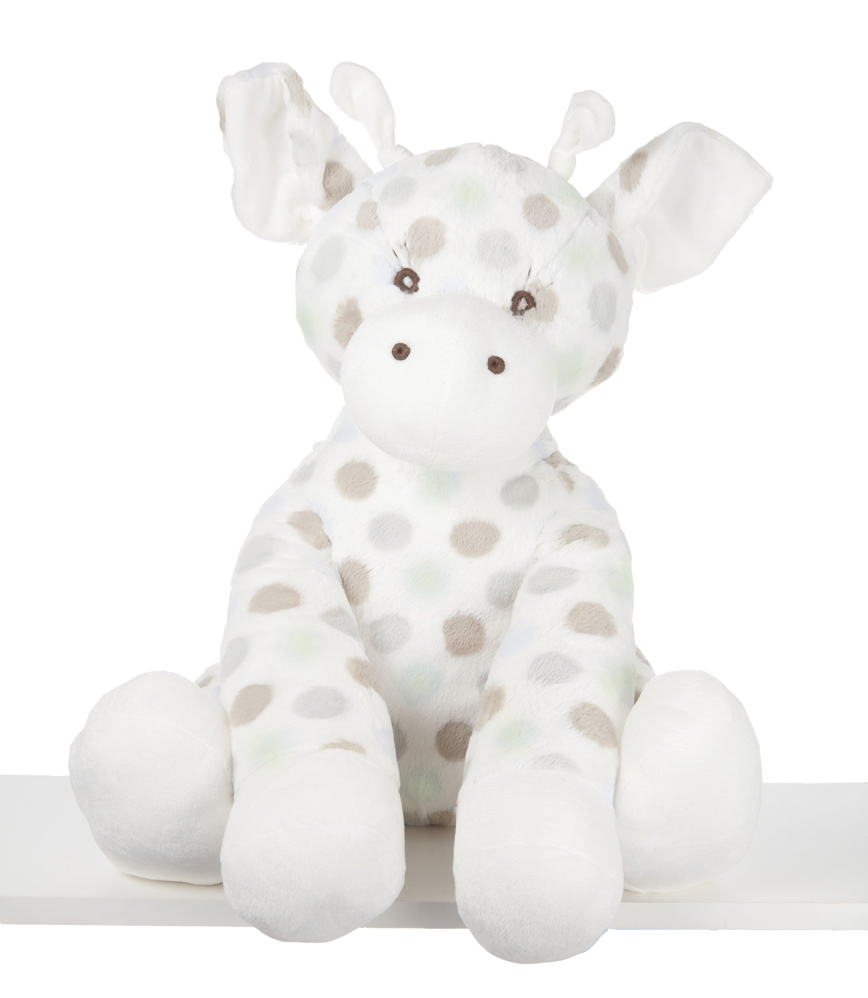 Little G Plush Toy Giraffe Celadon