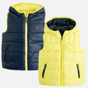 Mayoral Boy Lemon Reversible Vest