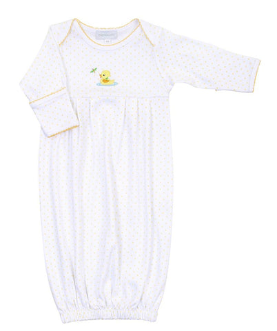 Magnolia Baby Ducky Pleated Gown