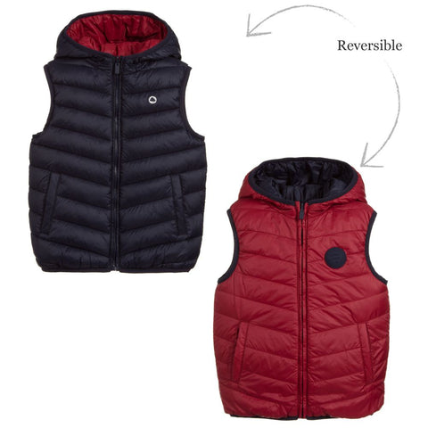 Chaleco reversible Mayoral Baby Boys