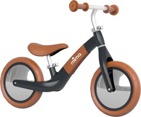 Mima Zoom Balance Bike - Black/Camel