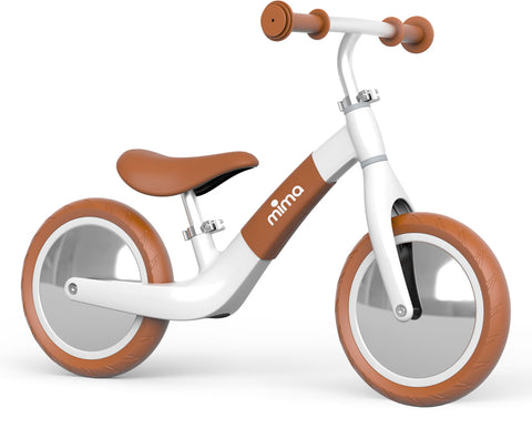 Mima Zoom Balance Bike - White/Camel