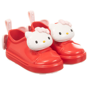 Mini Melissa Red Hello Kitty Jelly Trainers