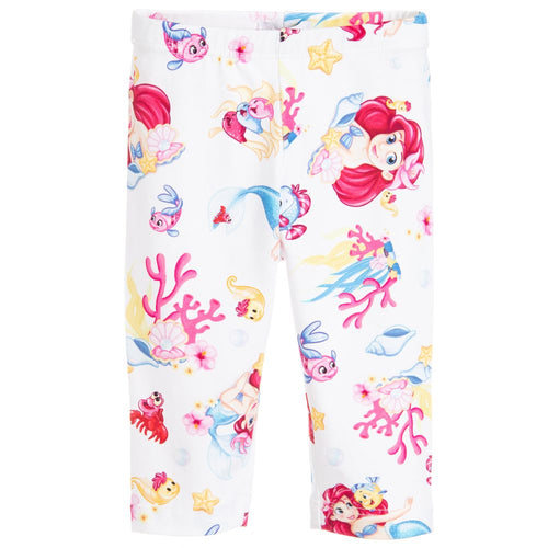 Monnalisa Bebé Girls Cotton Disney Leggings