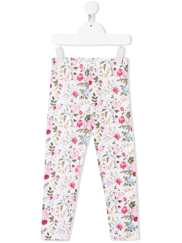 Monnalisa Girls Floral Print Leggings