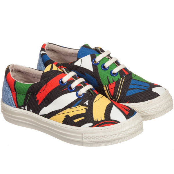 Stella McCartney zapatillas de deporte estampadas multicolor