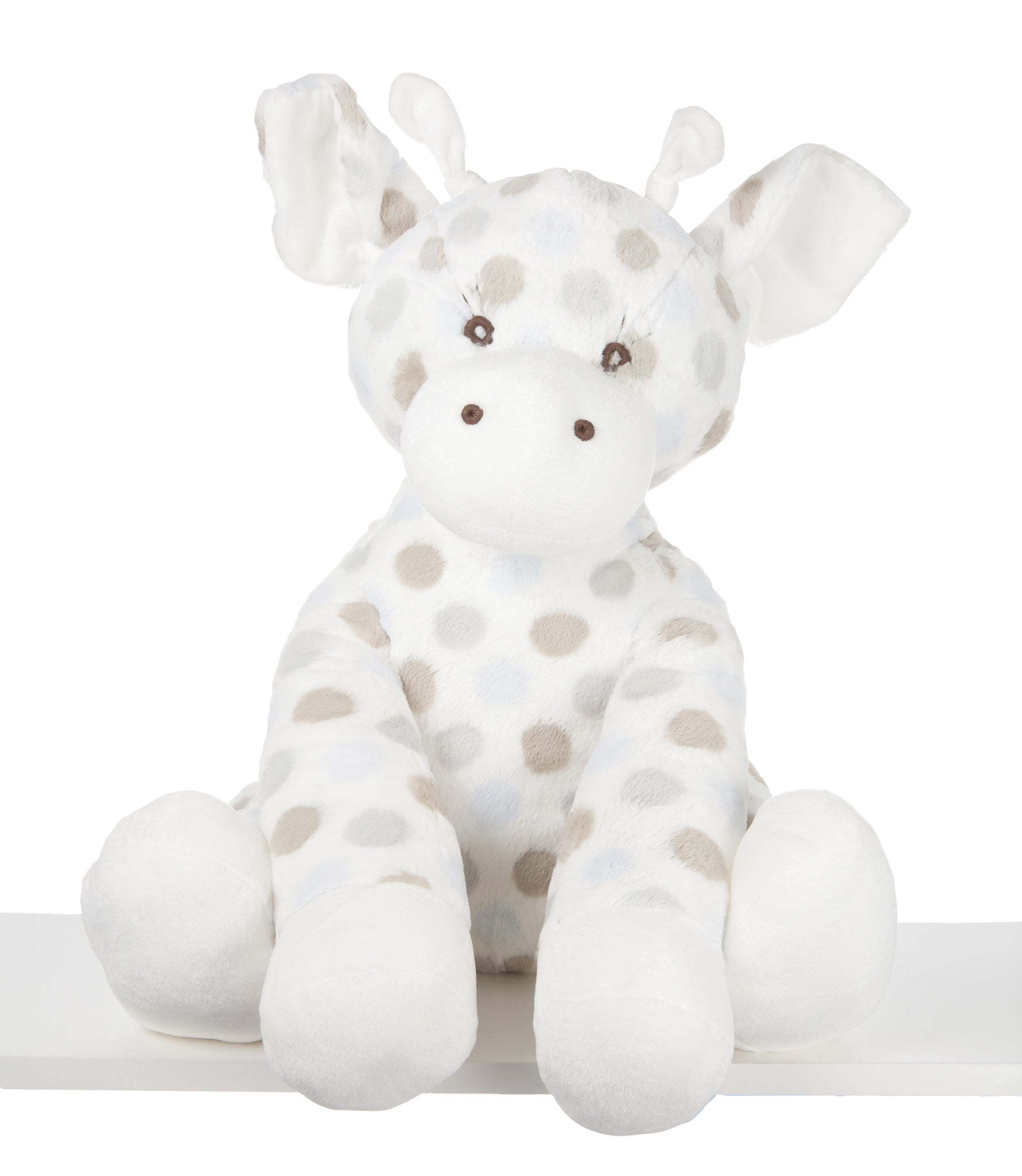Little G Plush Toy Giraffe Blue