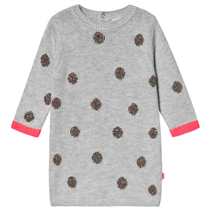 Billieblush Girl's Knit Polka Dot Sweater Dress