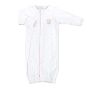 Magnolia Baby Pink Noah's Friends Embroidered Converter