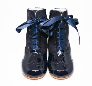 Geppetto's Girl Navy Suede Boots